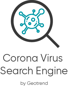 Corona Virus Search Engine Logo